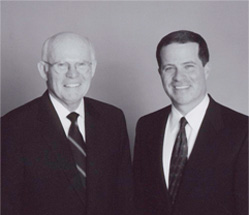 Company founder Tom Conlin and Conlin President Chris Conlin